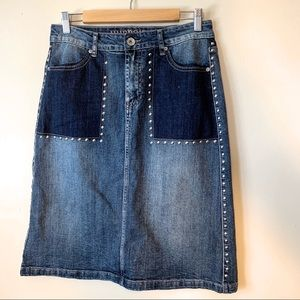0465be4f1 Hydraulic | Tribeca Denim Skirt | Size 6